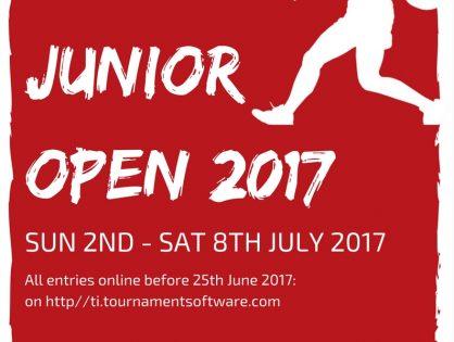 Davy Munster Junior Open
