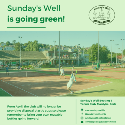 Sunday's Well is Going Green