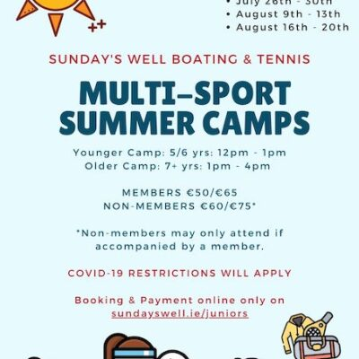 Summer Camps Update